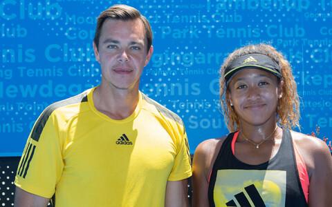 Sascha Bajin ja Naomi Osaka