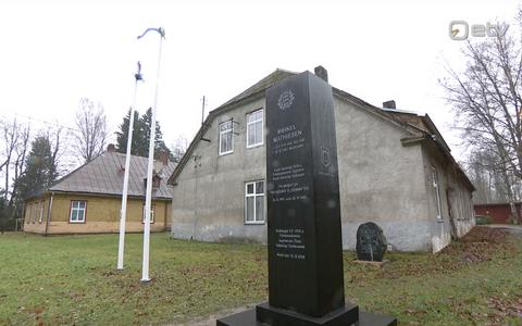 Mihkel Mathieseni mälestusmärk Sindis.