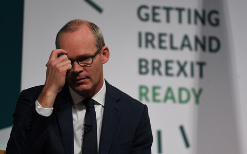 Iiri välisminister Simon Coveney.