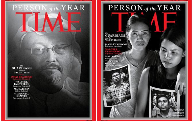 Обложка номера Time, в котором были объявлены победители конкурса.