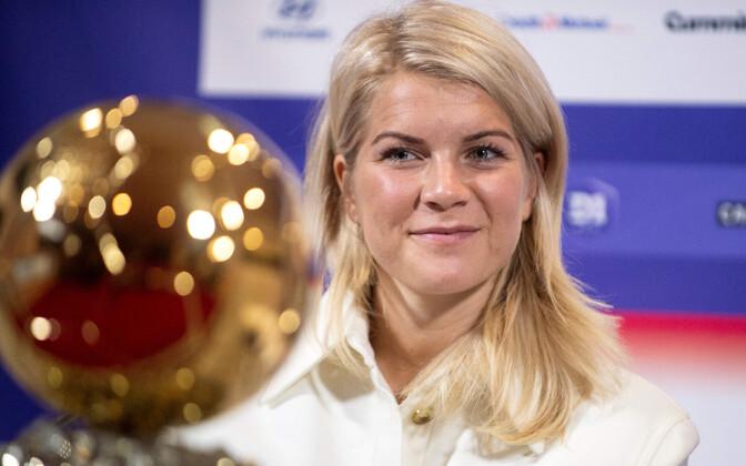 Ada Hegerberg enda Kuldpalliga.