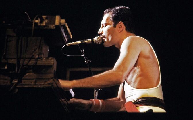 Queeni solist Freddie Mercury septembris 1984.