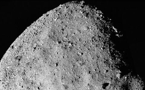 Kõrge lahutusvõimega foto asteroid Bennust.