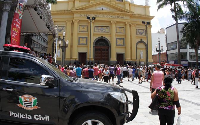 Sündmuskoht Campinase linnas.