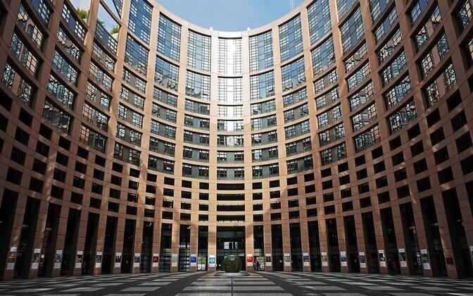 Здание Европейского парламента.