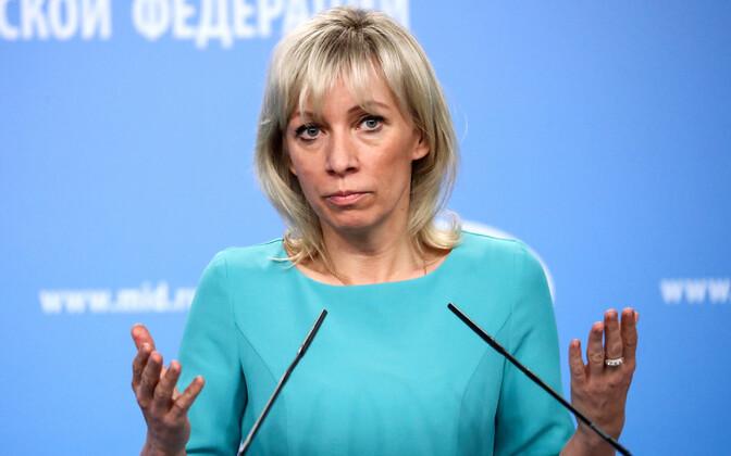 Vene välisministeeriumi pressiesindaja Maria Zahharova.