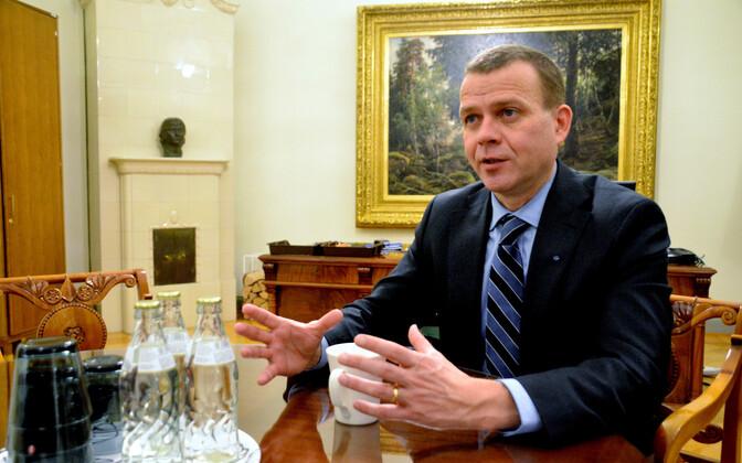 Soome rahandusminister Petteri Orpo (Koonderakond).