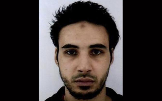 Cherif Chekatt Prantsuse politsei poolt jagatud fotol.