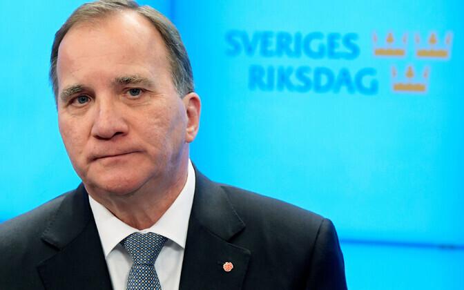 Rootsi sotsiaaldemokraatide liider ja peaminister Stefan Löfven.