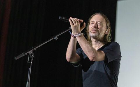 Ansambli Radiohead solist Thom Yorke 2018. aasta detsembris.