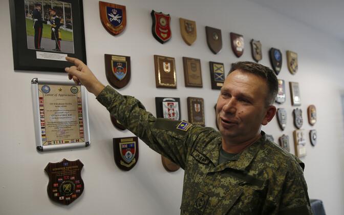 Командующий Силами безопасности Косово Рахман Рама.