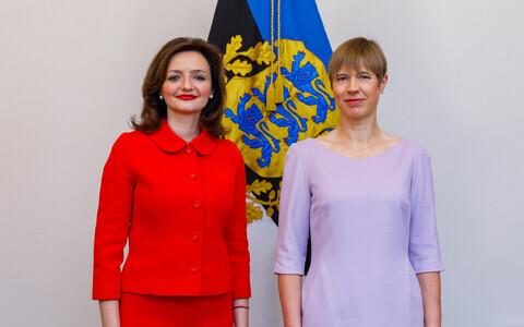 Марьяна Беца и Керсти Кальюлайд.