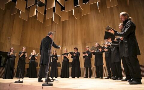 Vox Clamantis ja dirigent Jaan-Eik Tulve