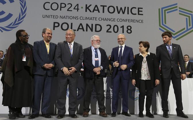 ÜRO kliimakohtumise delegatsioonide juhid