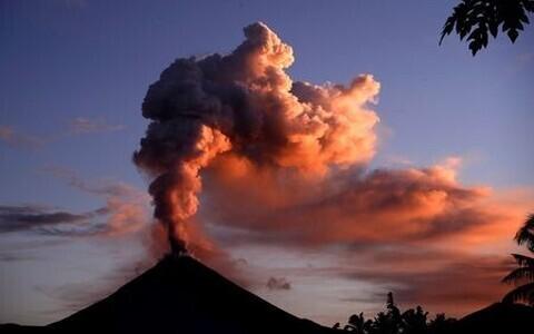 Вулкан Сопутан.