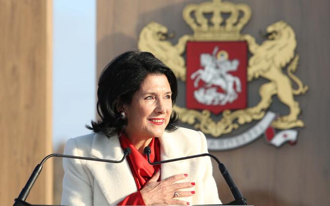 Президент Грузии Саломе Зурабишвили.