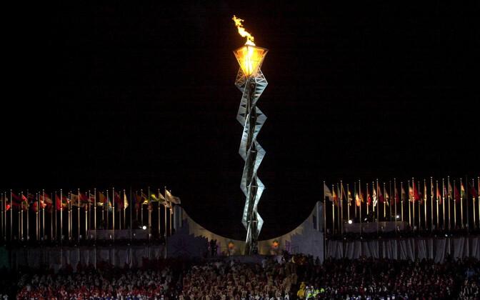Salt Lake City olümpiatuli 2002. aastal