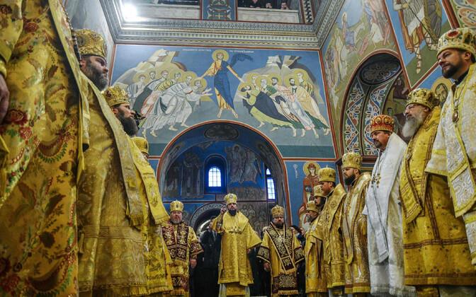 Iseseisva Ukraina kiriku loomine Kiievis.