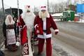 Встреча Санта-Клауса и Деда Мороза.