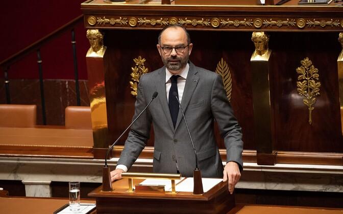 Prantsusmaa peaminister Edouard Philippe.