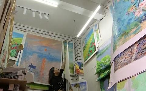 Lõuna-Hiinas asub üks suurimaid lääne kunsti kopeerimise keskuseid
