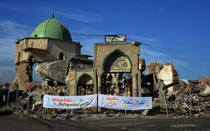 Al-Nuri mošee varemed Mosulis.