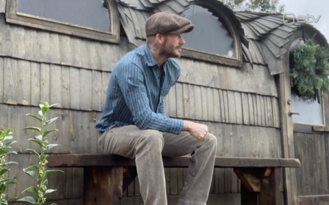 Jalgpallur David Beckham Creative Woodworks OÜ sauna ees