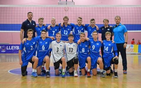 Eesti noormeeste U-15 võrkpallikoondis