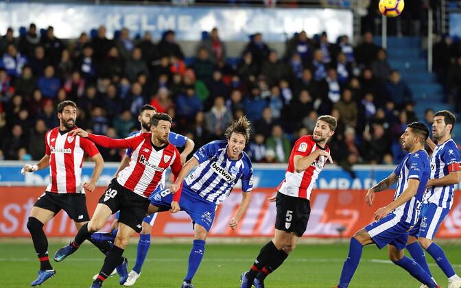 Hetk mängust Alavesi ja Bilbao Athleticu vahel