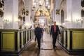 Viilma tutvustas Kaljulaidile Tallinna toomkirikut