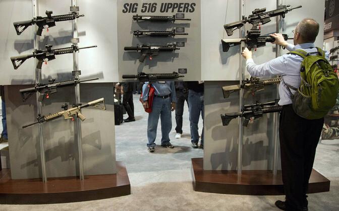 Sig Saueri relvad Las Vegases näitusel