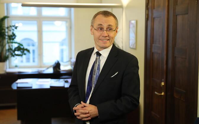 Министр культуры Тынис Лукас.