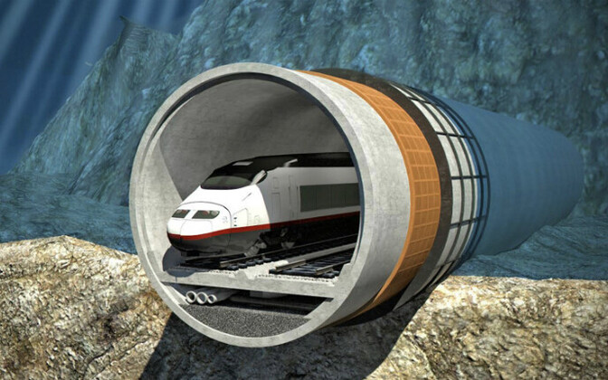 The Tallinn-Helsinki tunnel is projected to cost €15 billion in total.
