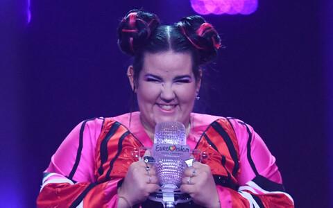 Iisraeli esindaja, 2018. aasta Eurovisiooni võitja Netta.