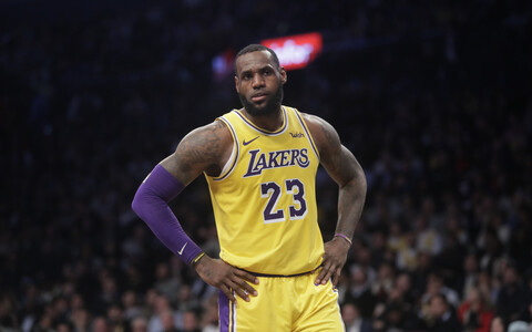 LeBron James (Los Angeles Lakers) kohtumises Netsiga