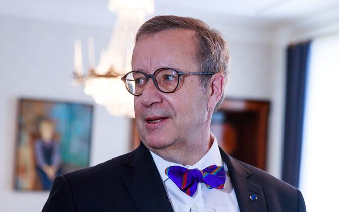 Экс-президент Эстонии Тоомас Хендрик Ильвес.