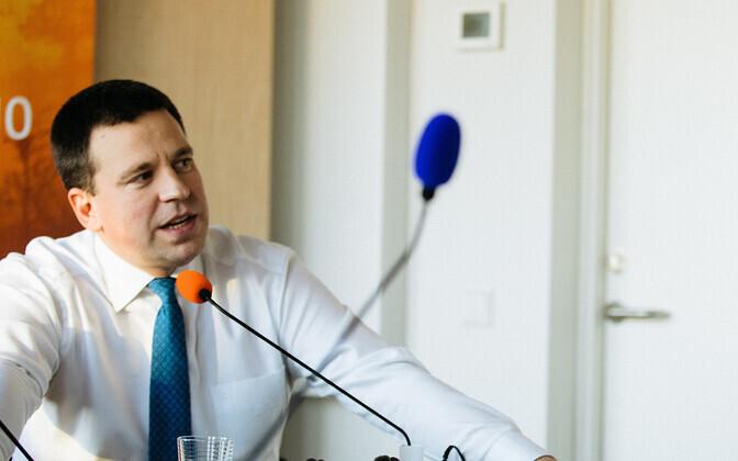 Юри Ратас верит в то, что Майлис Репс сможет навести порядок в министерстве.