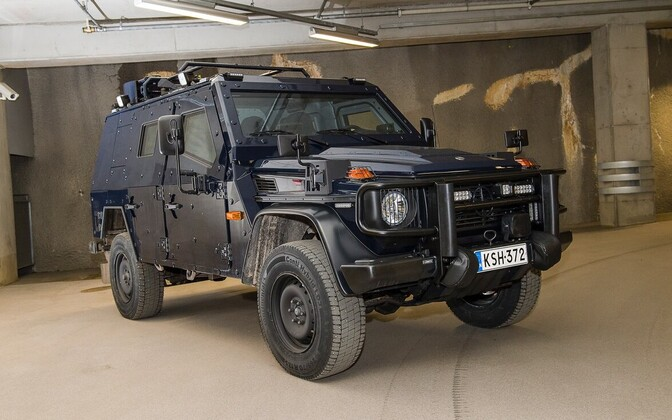 Soome politsei soomustatud auto Hevi.