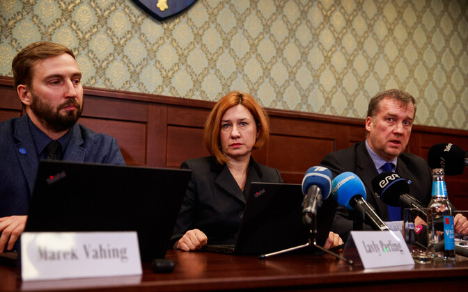 At the press conference on the most recent arrests in the Danske money laundering case, 19 December 2018.