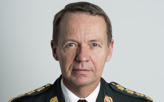 Taani kaitseväe juhataja kindral Bjørn Bisserup.