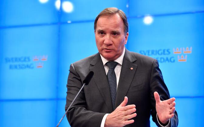 Rootsi praegune peaministri kohusetäitja Stefan Löfven.