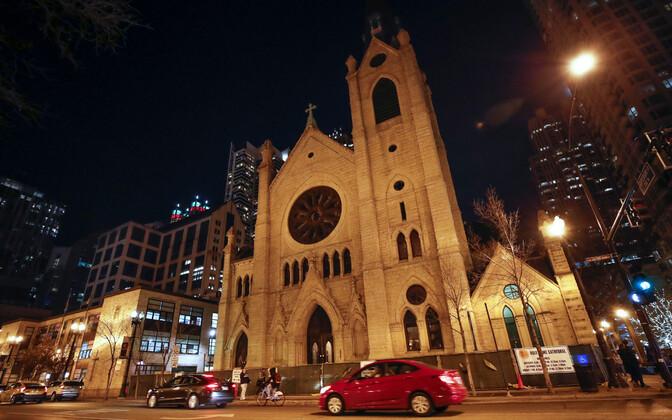 Rooma-katoliku katderaal Chicagos.