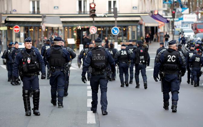 Prantsuse märulipolitseinikud.