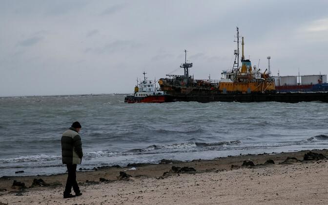 Ukraina Berdjanski sadam Aasovi meres.