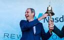 Tallinna Sadama juht Valdo Kalm ettevõtte börsilemineku üritusel.