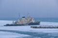 Imeline hetk, mis paneb lõdisema. Väga vana jäämurdja Tarmo sai minna merele tööd tegema.