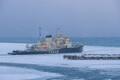 Выход в море ледокола Tarmo. Иллюстративное фото.
