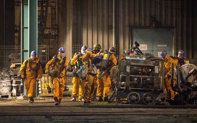 Спасатели готовятся к поиску погибших на шахте в Чехии.