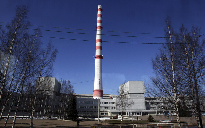Sosnovõi Bori tuumaelektrijaama peahoone.