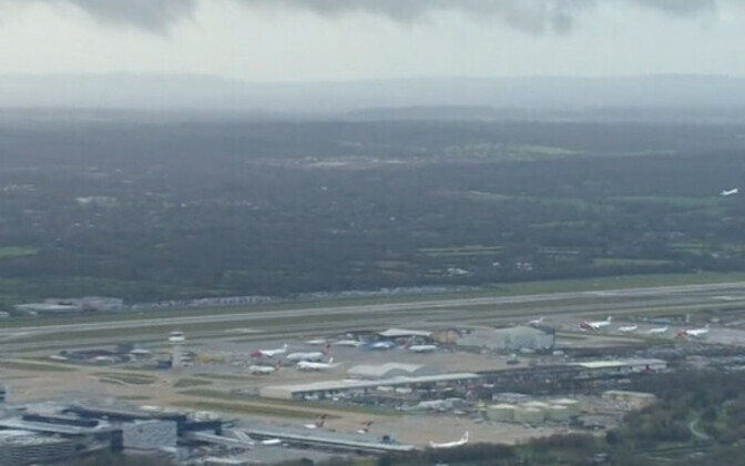 Лондонский аэропорт Гатвик.